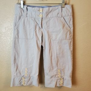 Cartonnier Anthropologie Pinstripe Sailor Pants